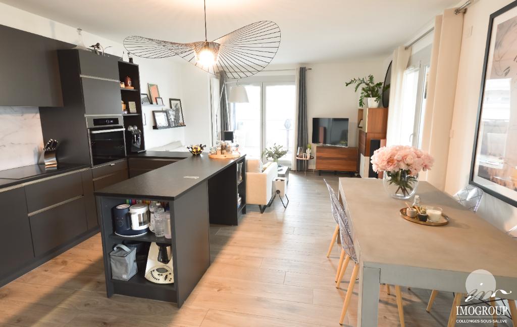 Vente Appartement de 3 pièces 72 m² - VIRY 74580 | IMOGROUP COLLONGES SOUS SALEVE - IMOGROUP photo1