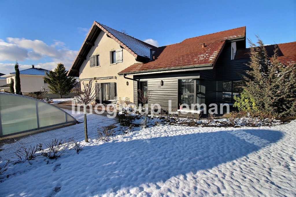 Vente Maison de 6 pièces 238 m² - CRANVES SALES 74380 | IMOGROUP DOUVAINE - IMOGROUP photo1