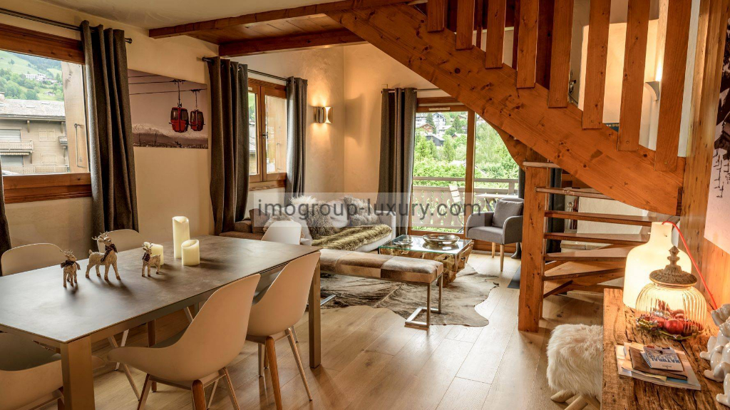 Vente Appartement de 4 pièces 53 m² - MEGEVE 74120 | IMOGROUP DOUVAINE - IMOGROUP photo1