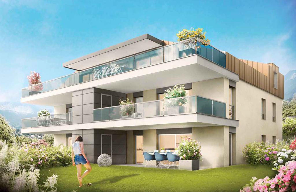 Vente Appartement de 4 pièces 88 m² - NEUVECELLE 74500 | IMOGROUP EVIAN - IMOGROUP photo2