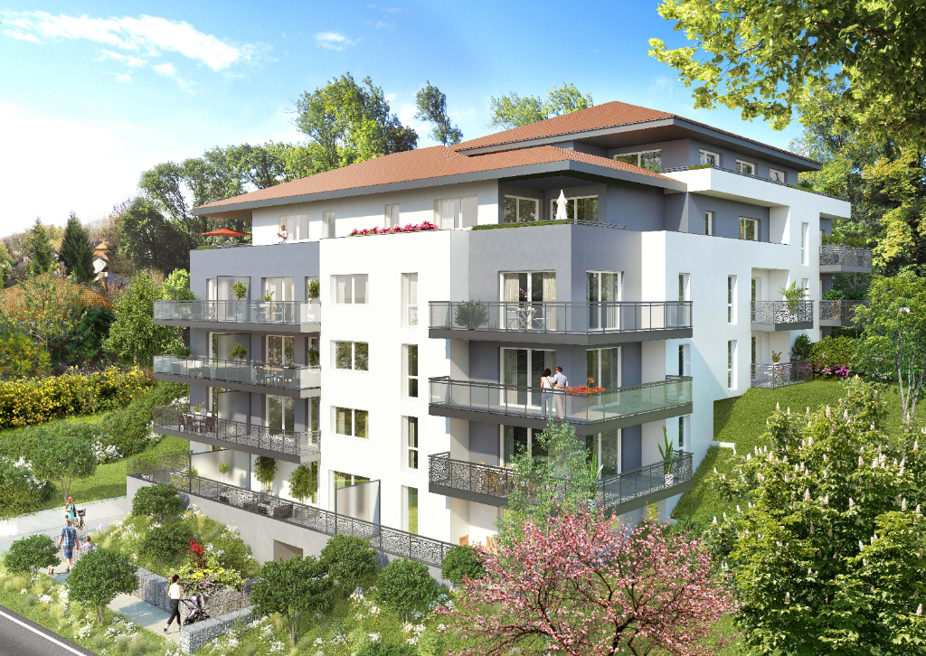 Vente Appartement de 3 pièces 61 m² - PUBLIER 74500 | IMOGROUP THONON LES BAINS - IMOGROUP photo1