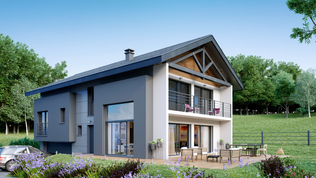 Vente Programme Neuf de 5 pièces 180 m² - BALLAISON 74140   IMOGROUP DOUVAINE - IMOGROUP photo1
