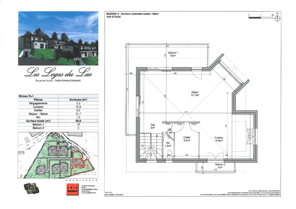 Vente Maison de 5 pièces 128 m² - EVIAN LES BAINS 74500   IMOGROUP EVIAN - IMOGROUP photo5
