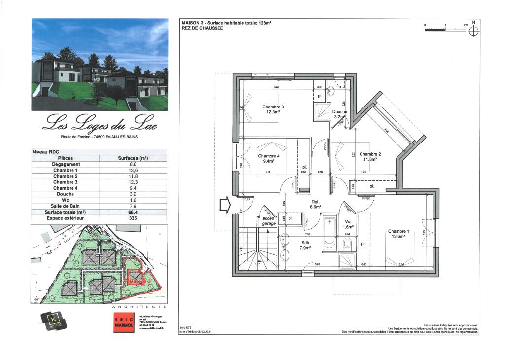Vente Maison de 5 pièces 128 m² - EVIAN LES BAINS 74500   IMOGROUP EVIAN - IMOGROUP photo6