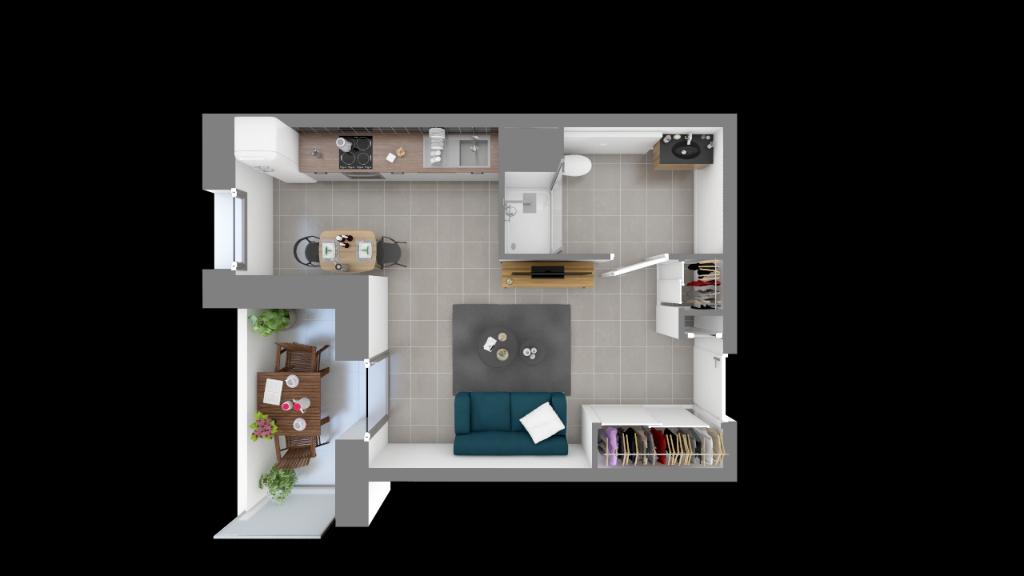 Vente Appartement de 1 pièces 30 m² - THONON LES BAINS 74200 | IMOGROUP THONON LES BAINS - IMOGROUP photo2