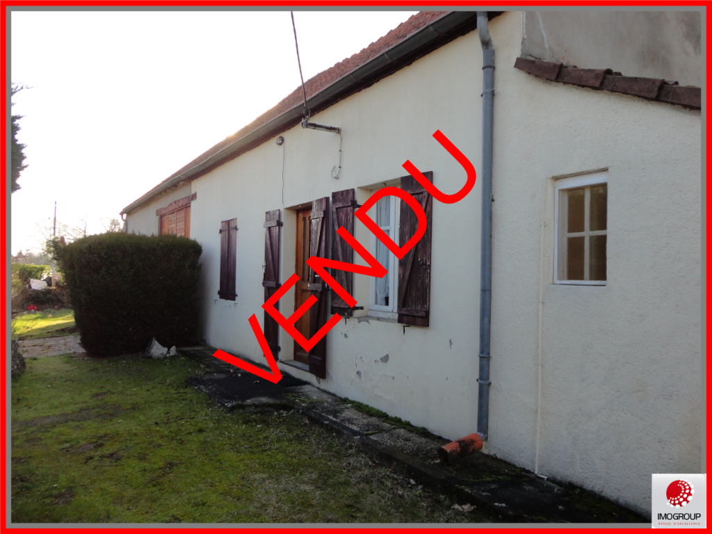 Vente Maison de 3 pièces 55 m² - LAPALISSE 03120 | IMOGROUP LAPALISSE - IMOGROUP photo1