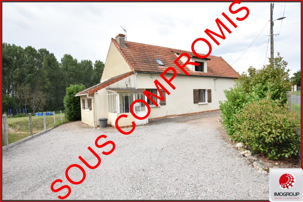Vente Maison de 3 pièces 129 m² - RONGERES 03150 | IMOGROUP LAPALISSE - IMOGROUP photo1