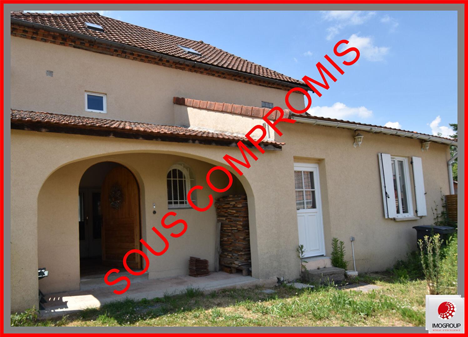 Vente Maison de 6 pièces 190 m² - SAINT CHRISTOPHE 03120 | IMOGROUP LAPALISSE - IMOGROUP photo1