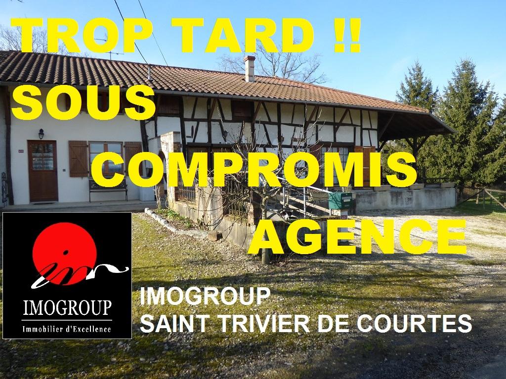Vente Maison de 9 pièces 200 m² - CORMOZ 01560   IMOGROUP SAINT TRIVIER DE COURTES - IMOGROUP photo1