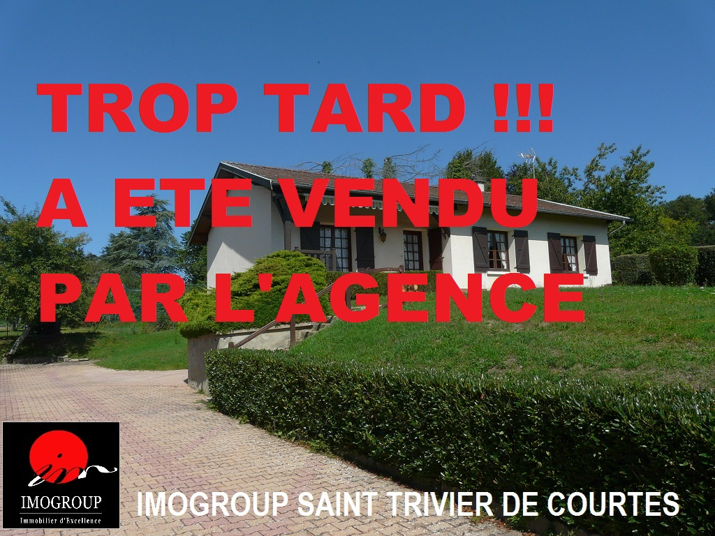 Vente Maison de 6 pièces 93 m² - SAINT TRIVIER DE COURTES 01560 | IMOGROUP SAINT TRIVIER DE COURTES - IMOGROUP photo1