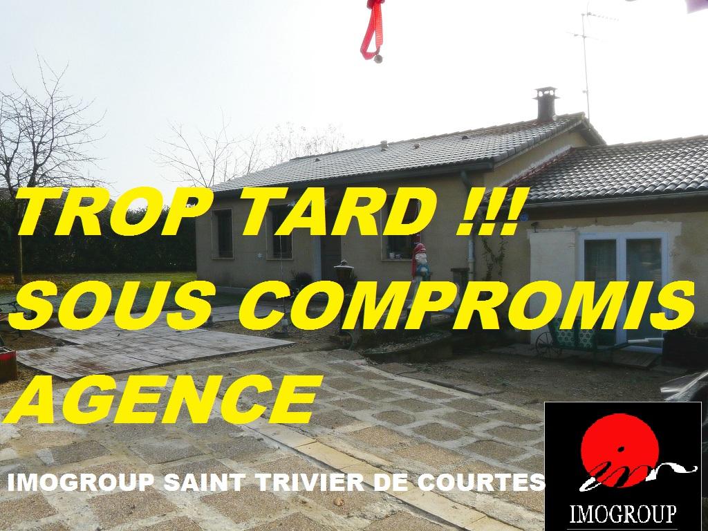Vente Maison de 5 pièces 75 m² - SAINT TRIVIER DE COURTES 01560 | IMOGROUP SAINT TRIVIER DE COURTES - IMOGROUP photo1