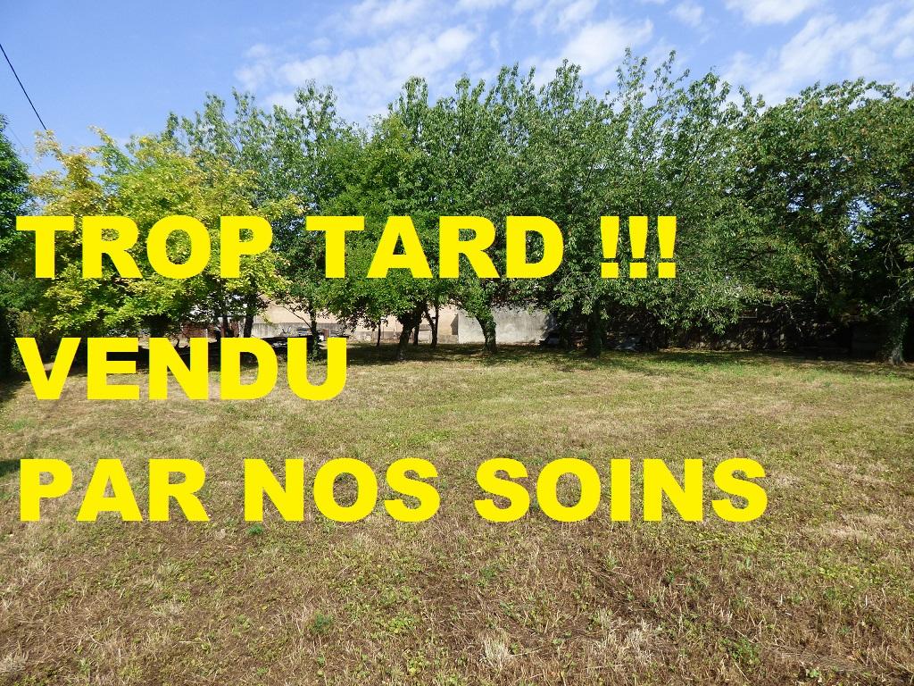 Vente Terrain de 1572 m² - SAINT TRIVIER DE COURTES 01560 | IMOGROUP SAINT TRIVIER DE COURTES - IMOGROUP photo1