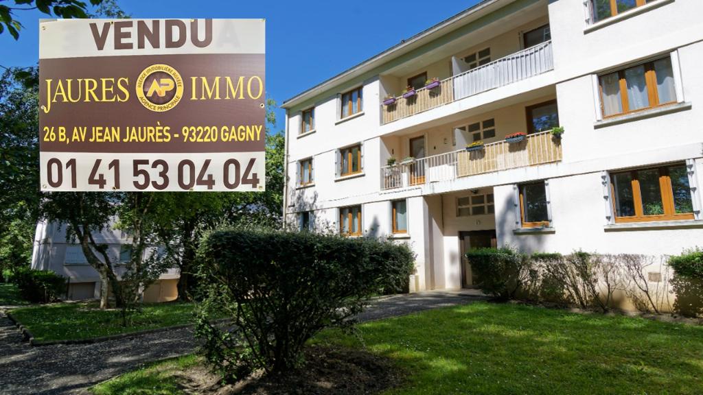 Appartement Gagny 3 pièce(s) 60.43 m2