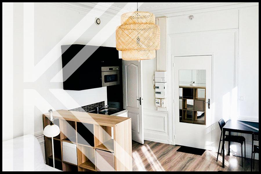 photo de Appartement Rouen 1 pièce(s) 23.10 m2
