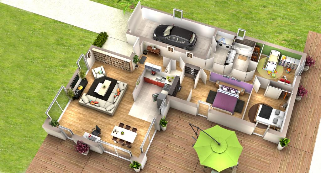 BAINS Villa contemporaine