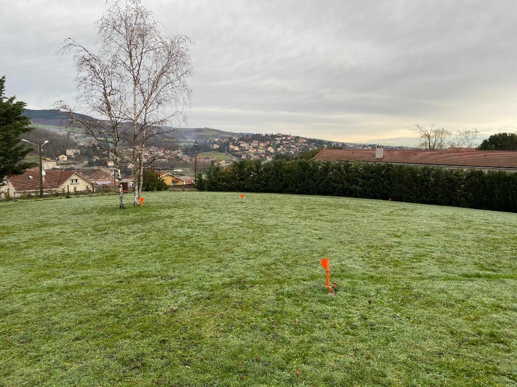 Maison + Terrain à Saint-Chamond (parcelle de 829 m²)