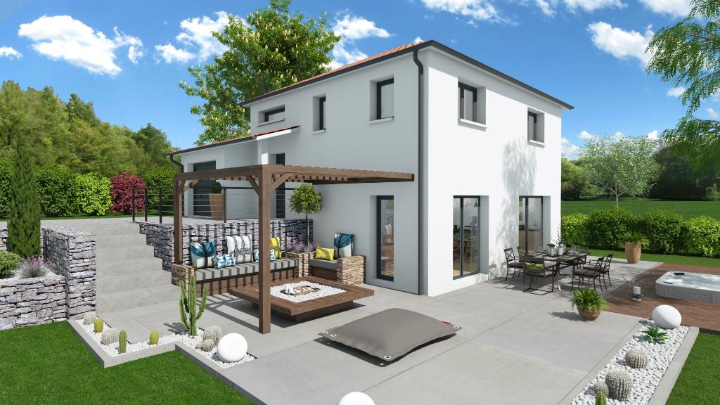 Maison + terrain à Saint-Chamond (parcelle de 450 m²)