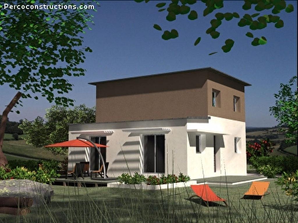 Maison st sauveur contemporaine 4 chambres saint sauveur 24520 for Prix maison 4 chambres