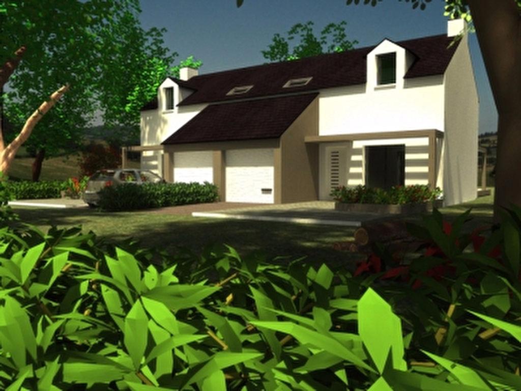 maison st segal double saint s gal 29590. Black Bedroom Furniture Sets. Home Design Ideas