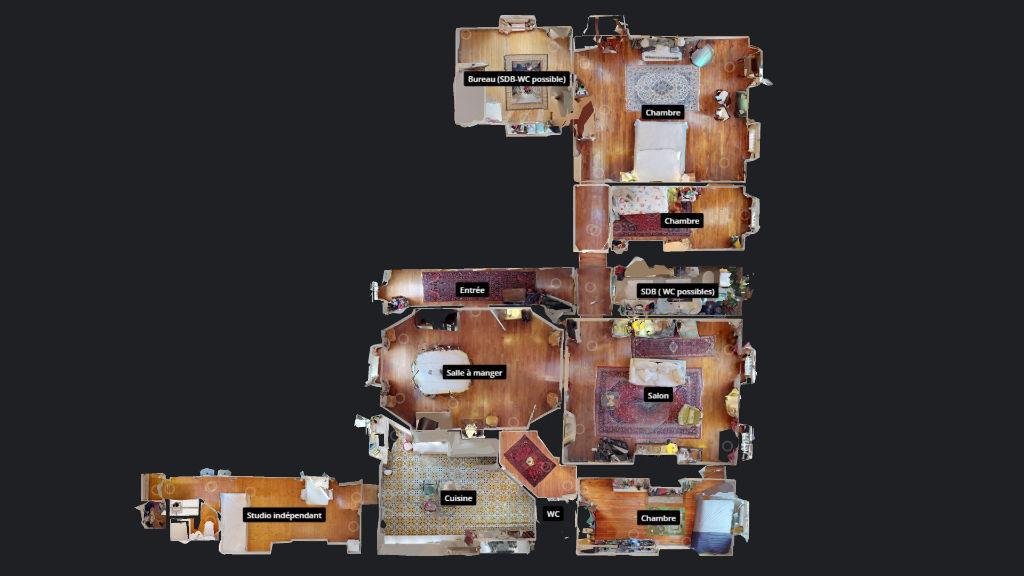 appartement 196.25m²  BESANCON  - photo 18