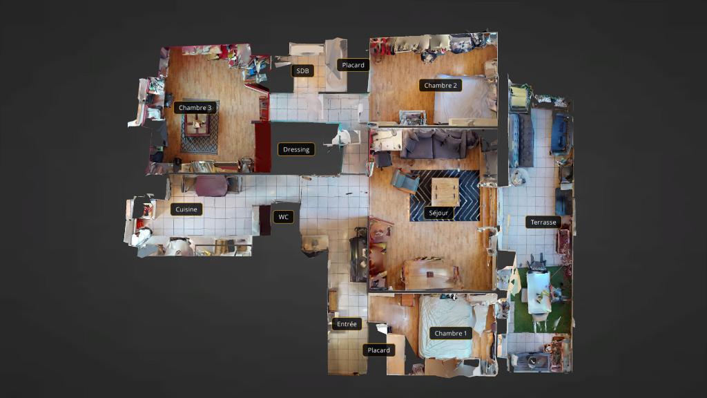 appartement 91.5m²  BESANCON  - photo 13