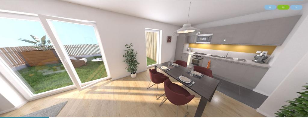 appartement 58.7m²  BESANCON  - photo 2
