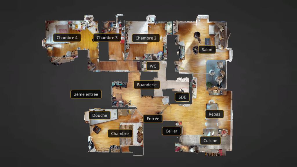 appartement 117.45m²  BESANCON  - photo 9