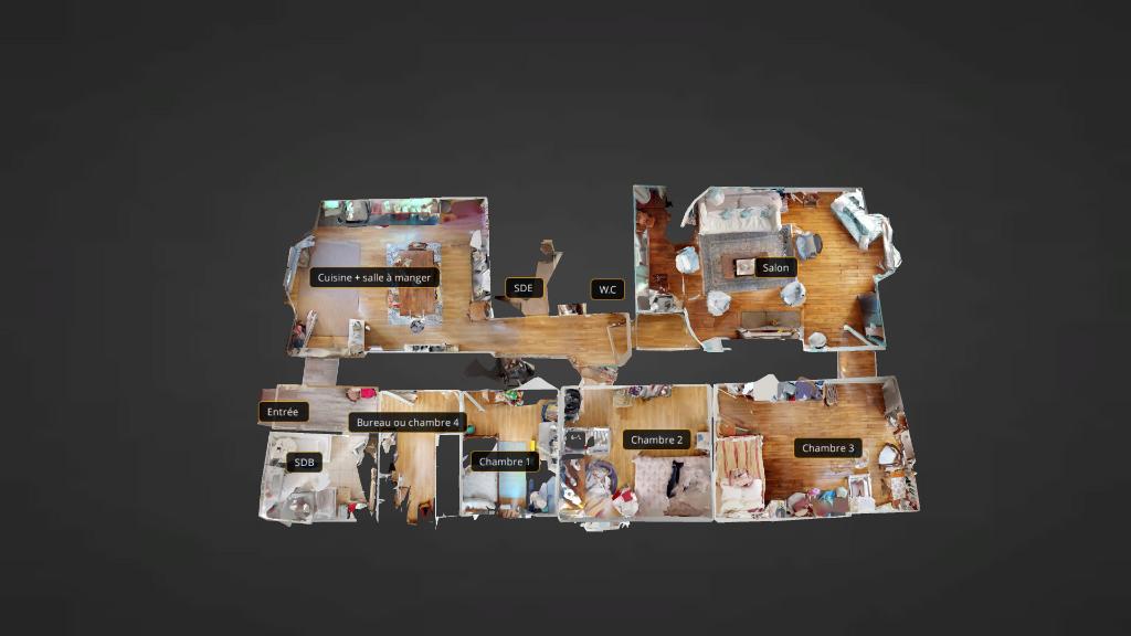 appartement 105m²  BESANCON  - photo 8