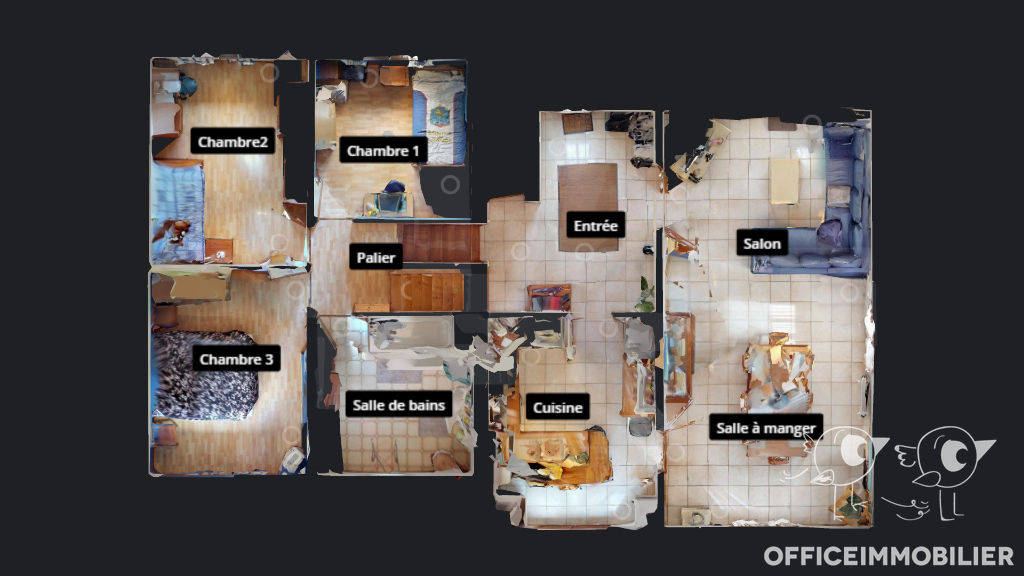 maison 164.07m²  PUGEY  - photo 4