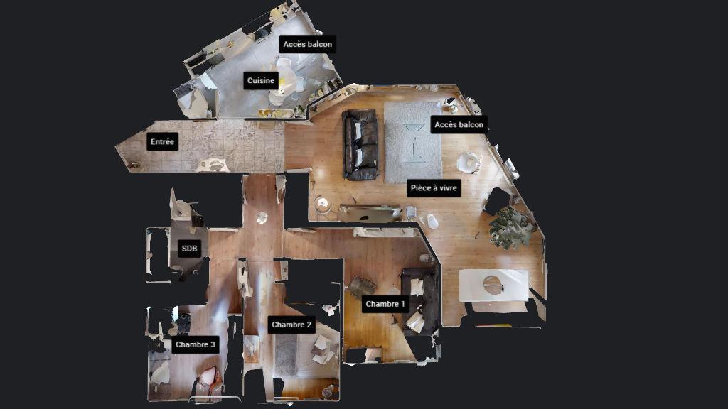 appartement 94.79m²  BESANCON  - photo 12