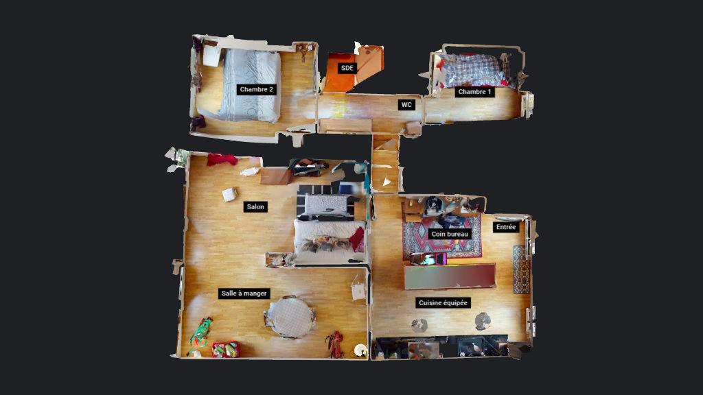 appartement 75m²  Besançon  - photo 9