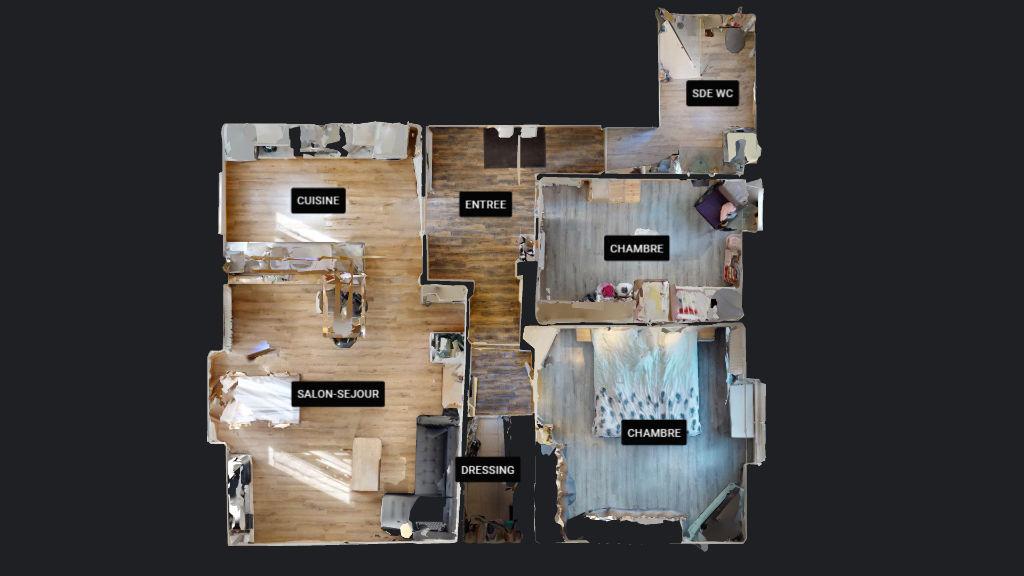 appartement 79m²  SAONE  - photo 12