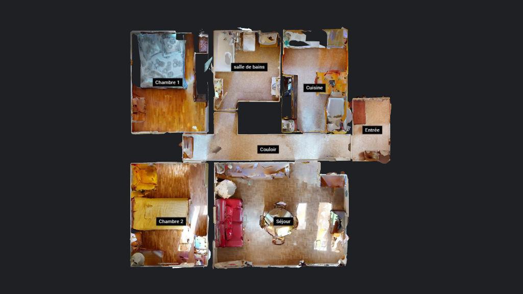 appartement 61.58m²  BESANCON  - photo 7