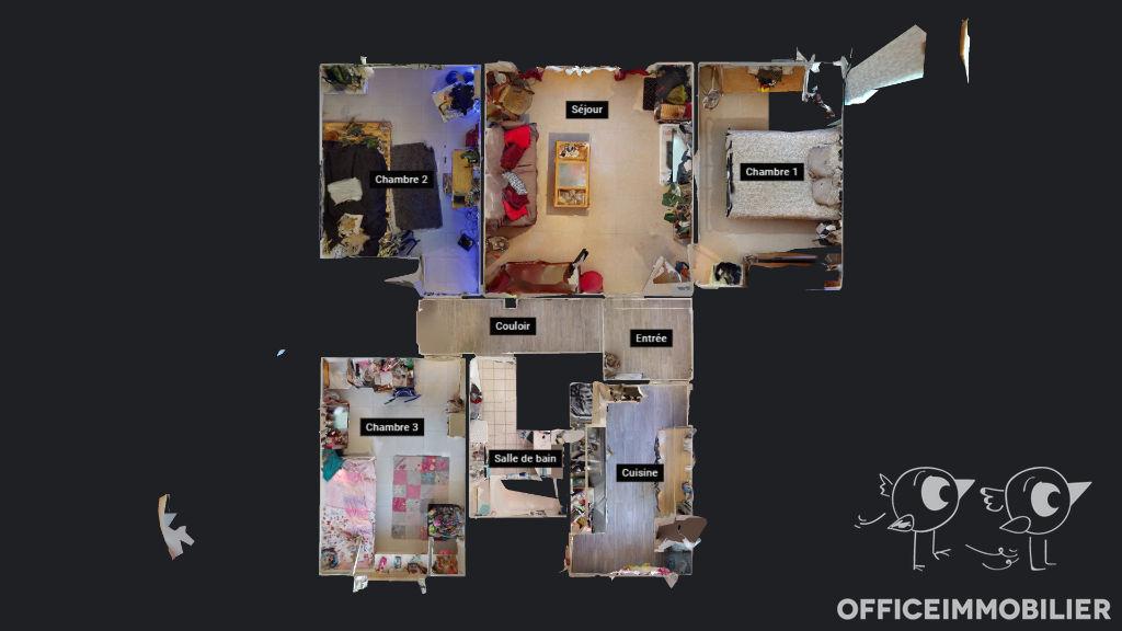 appartement 69.19m²  BESANCON  - photo 10