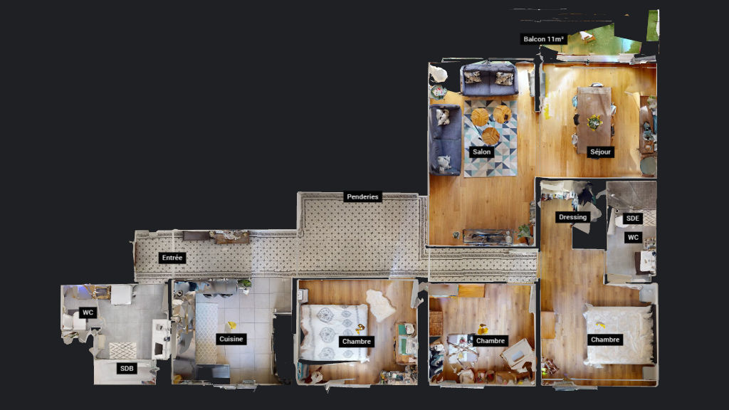 appartement 111.82m²  BESANCON  - photo 18