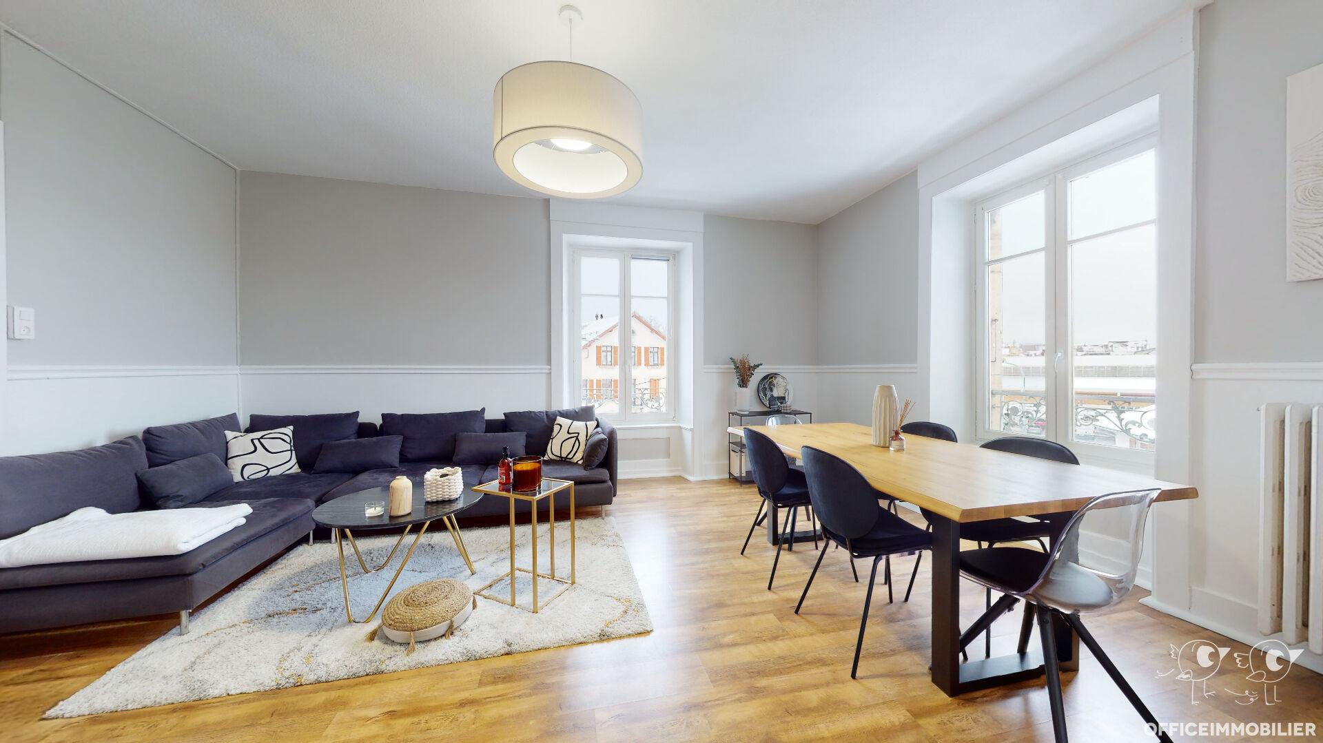 appartement 71m²  pontarlier  - photo 1