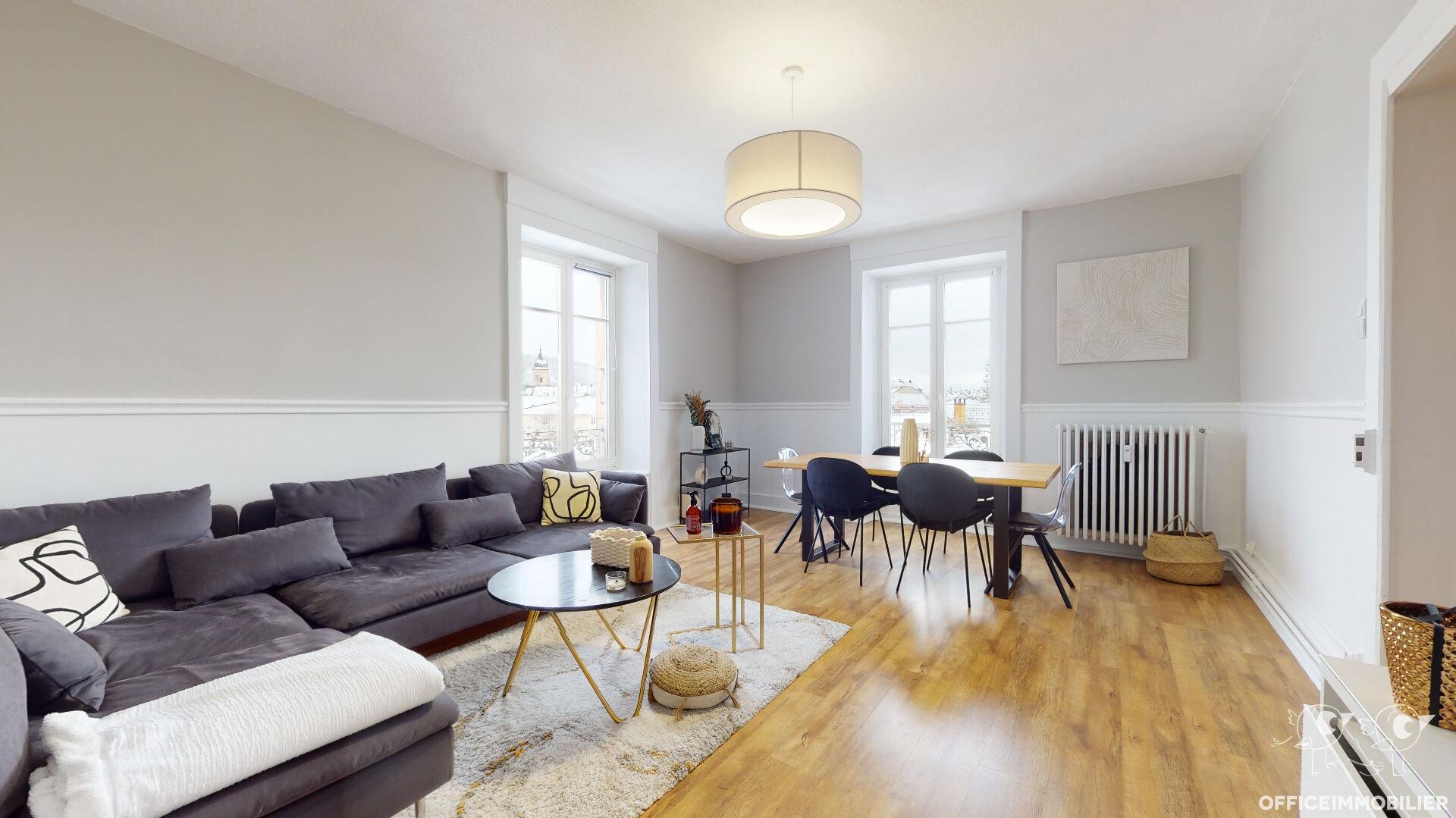appartement 71m²  pontarlier  - photo 2