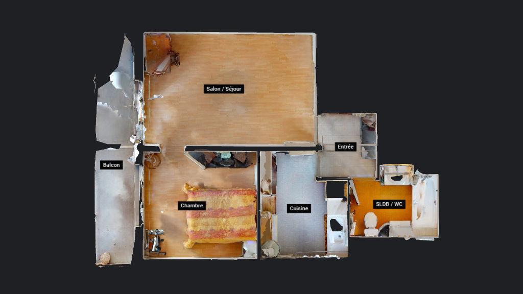 appartement 41m²  BESANCON  - photo 11