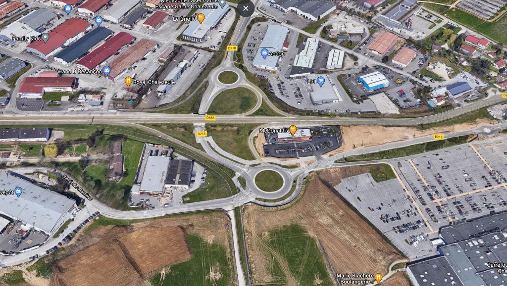 terrain 2669m²  CHALEZEULE  - photo 1