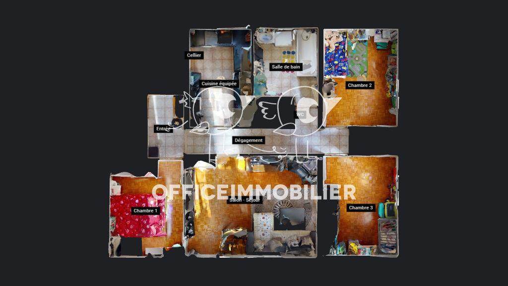 appartement 71.69m²  BESANCON  - photo 12