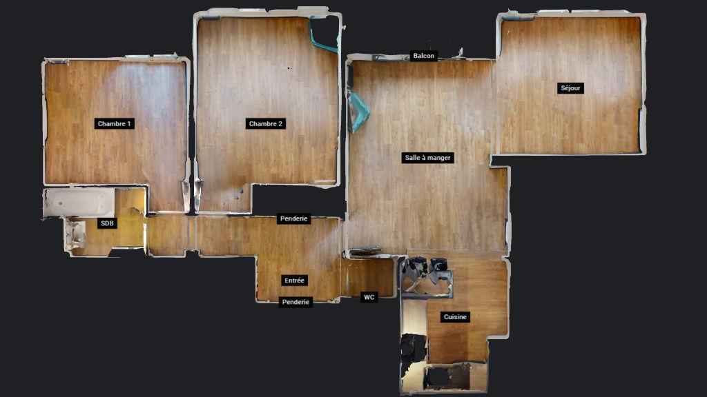 appartement 71m²  BESANCON  - photo 11
