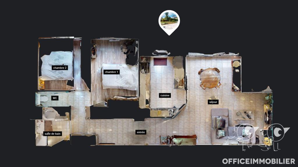 appartement 69.73m²  BESANCON  - photo 11