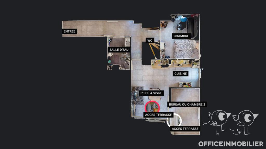appartement 60.08m²  BESANCON  - photo 12
