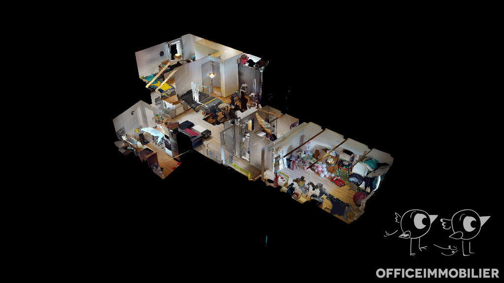 appartement 80m²  OYE ET PALLET  - photo 8