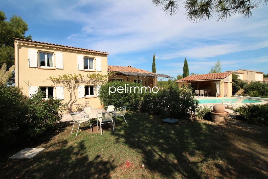 Lançon-Provence - Villa T5 - 135m² sur terrain de 1200m²