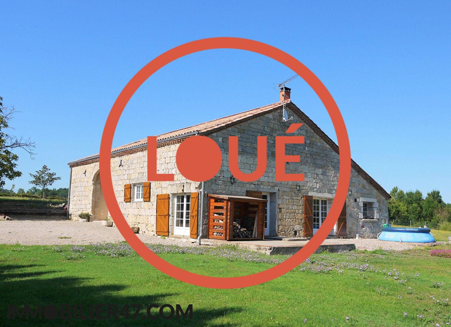Verhuren  huis Prayssas 830€ +CH - Foto 1