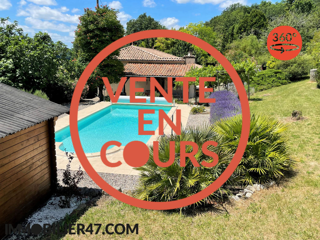 Vente maison / villa Montpezat 219 000€ - Photo 1