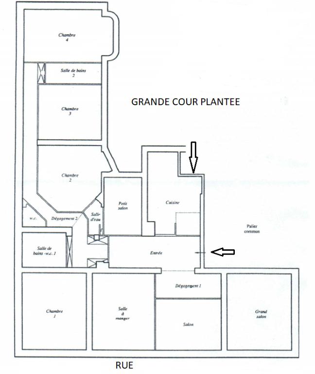 Vente Appartement de 8 pièces 220 m² - PARIS 75116 | REZ DE CHAUSSEE.COM - AR photo3