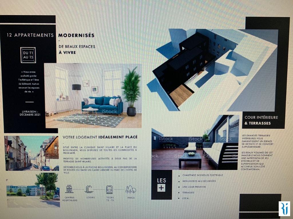 Vente appartement Rouen 269425€ - Photo 2