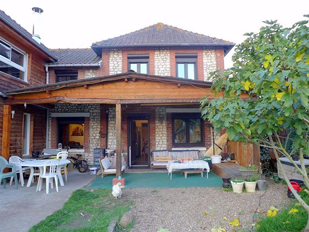 Maison avec extension contemporaine -  SAHURS (76113)